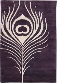 purple accent rugs thomas paul feather plum cream rug from the thomas paul rugs