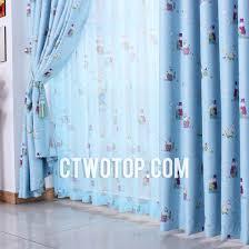 Teal Nursery Curtains Favorite Blue Hippo Patterns Blackout Nursery Curtains