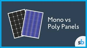 solar panels what is the difference between mono and poly solar panels youtube