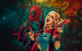 harley quinn and deadpool wallpapers 1680x1050 332095