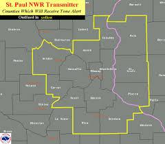 Minneapolis Mn Zip Code Map by Noaa Weather Radio Metro Skywarn
