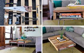 diy coffee table ideas 15 diy coffee table ideas personalize your living room