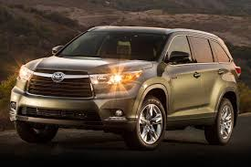 toyota highlander sales 2016 toyota highlander hybrid pricing for sale edmunds