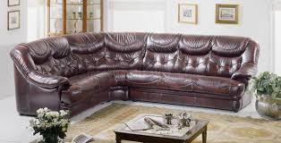Brown Leather Sectional Sofas by Burgundy Brown Full Top Grain Italian Leather Sectional Sofa Malaga