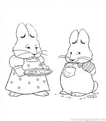 Nickjr Coloring Pages Max And Ruby Coloring Page Kids Printable Nick Jr Coloring Pages