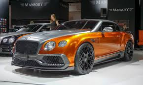 mansory to make the bentley hottest concepts and customs in frankfurt autonxt