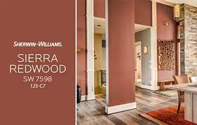 color of the month sierra redwood