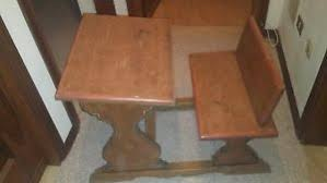 banchetto scuola banchetto scuola riproduzione con legno invecchiato ebay
