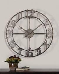 Giant Wall Clock Oversized Wall Clock Foter