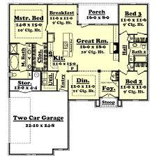 3 Bed 2 Bath House Plans European Style House Plan 3 Beds 2 00 Baths 1800 Sq Ft Plan 430 27