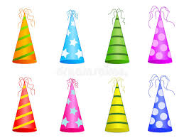 party hats party hats stock vector illustration of anniversary 26076543