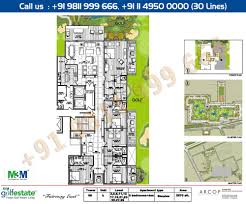 floor plan m3m golf estate