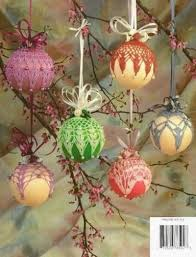 free beaded ornament covers springtime satin