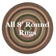 Round Braided Rugs For Sale Braided Rugs At Primitive Star Quilt Shop