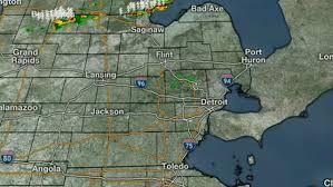 Radar Map For Michigan by Live Radar Stream Severe Weather Risk In Se Michigan