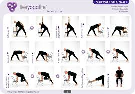 Chair Exercises For Seniors Yoga With A Chair Complete Set Classes 1 To 7 Live Yoga Life