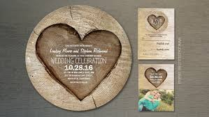 wood wedding invitations read more wooden heart rustic country wedding invites wedding
