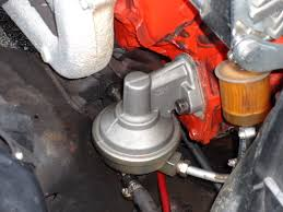 diy replacing your mechanical fuel pump
