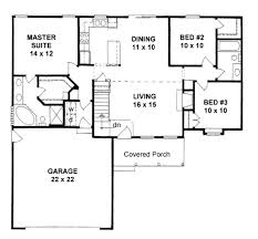 3 Bedroom Floor Plans With Garage 238 Best Bungalows Under 1400 Sq U0027 Images On Pinterest House