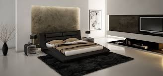 White Leather Platform Bed White Leather Modern Platform Bed With Headboard Cushions Hawaii