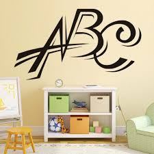 Alphabet Wall Decals For Nursery by Online Get Cheap Abc Wall Stickers Aliexpress Com Alibaba Group