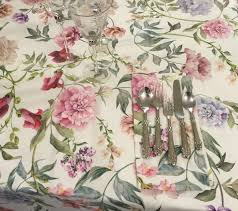 shabby flowers tablecloth shabby flowers