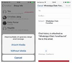 transfer whatsapp messages from iphone to android how to transfer messages on whatsapp from iphone to android