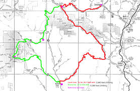 Saratoga State Park Map Saratoga Boulder Creek Big Basin Loop U2013 Cycling4fun