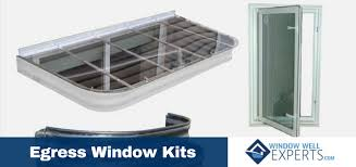 egress window kit window well experts