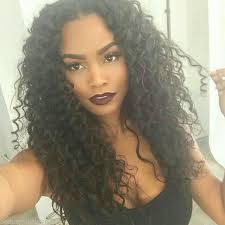 curly black hair sew in beautiful curly sew in hair pinterest curly hair style and