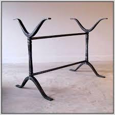 dining room best 20 wrought iron table legs ideas on pinterest