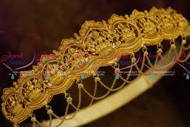 h0719 laxmi wedding south jewellery bridal vaddanam indian gold