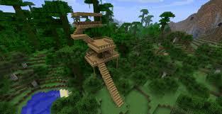 minecraft jungle treehouse v0 2 minecraft project