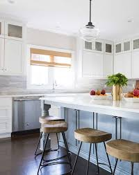 small kitchens with taupe cabinets two tone kitchen cabinet inspiration purewow