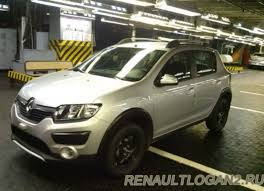 renault logan spied 2014 renault logan and sandero stepway in russia