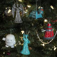 doctor who weeping ornament thinkgeek