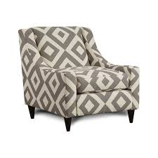 Ivory Accent Chair Accent Chairs Ivory And Gray Fabric Accent Chair Sm 8563 Ch Sc