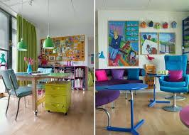 Home Interior Interior DesignArchitectureFurnitureHouse Design - Colorful home interior design