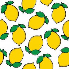 seamless lemon pattern seamless lemon pattern vector premium download