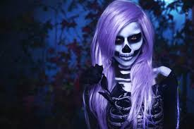 Halloween Skeleton Faces by Skeleton Makeup Watchers Of The Night Youtube