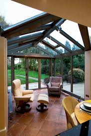 small conservatory simple and contemporary makes a spacious