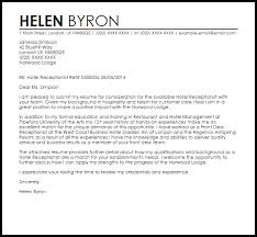 new covering letter for receptionist 77 on cover letter for job