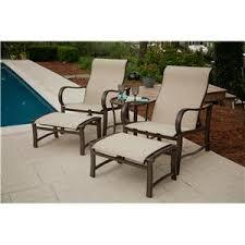reclining patio chair with ottoman elegant patio chair and ottoman set patio furniture