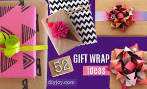 Ideas Of Gift Wrapping - 52 insanely clever gift wrapping ideas you u0027ll love diy joy