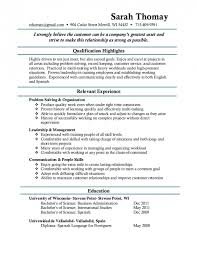 Resume Sample For Pharmacy Technician by Resume Sample No Experience Examples Templates
