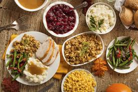 thanksgiving thanksgiving food spread recipes esl resources