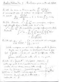 dispense analisi 1 didattica informazioni e materiale