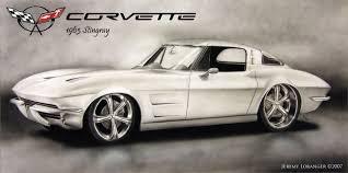 stingray corvette 1963 1963 corvette stingray by novastar2486 on deviantart