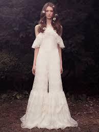 Wedding Dress Jumpsuit Honor Fall 2018 Collection Bridal Fashion Week Photos