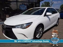 advantage toyota used cars 2016 toyota camry se 4dr sedan auto usa auto dealership
